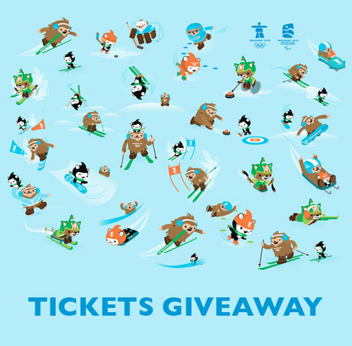 Vancouver 2010 Olympics Men's Hockey Ticket Giveaway Booooooom art blog
