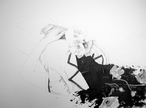 bree dentice pencil drawings art artist