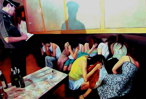 zhang haiying beijing artist painter painting