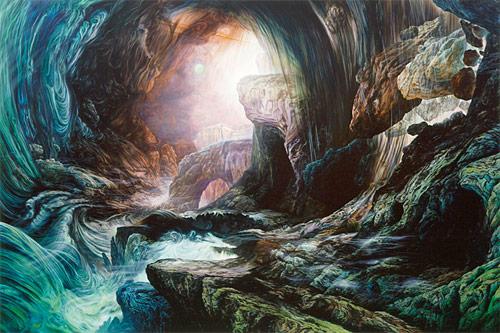 artist painter glenn brown