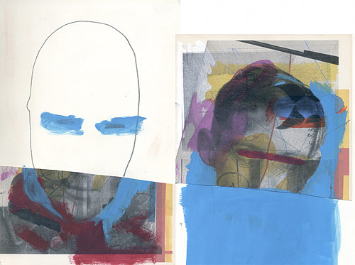 mixed media artist uk jenkins drawing