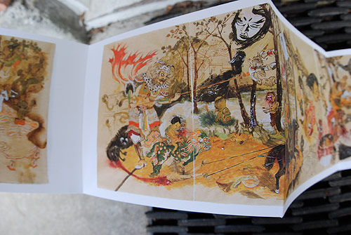 howie tsui horror fables book drawing painting artist ottawa