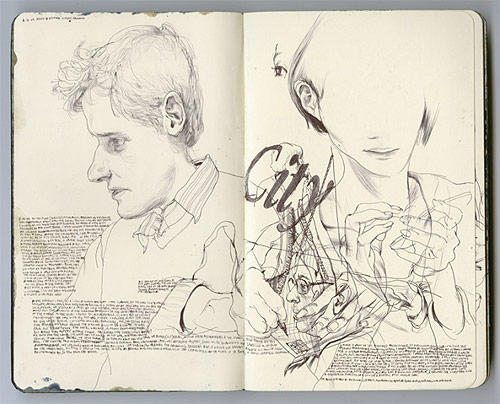 james jean artist painter painting sketches drawing illustrator