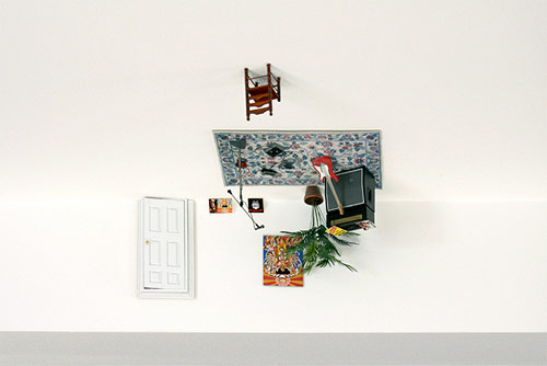 ji lee parallel world sculpture miniature ceiling