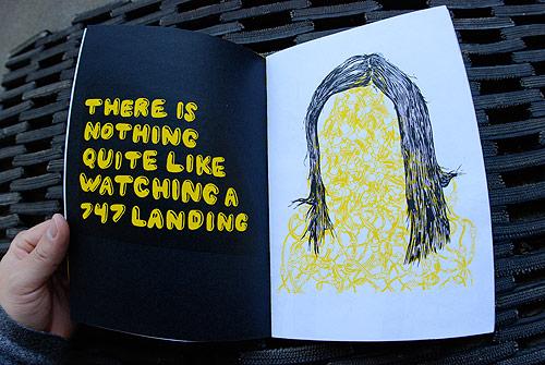 Artist illustrator Kelsey Dake nice zine