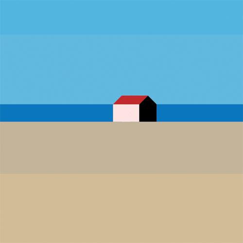 Landschaft mit haus paintings by Maria Zaikina