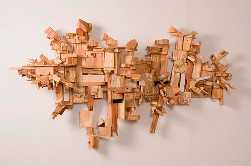 Sculptures by artist Jared Pankin