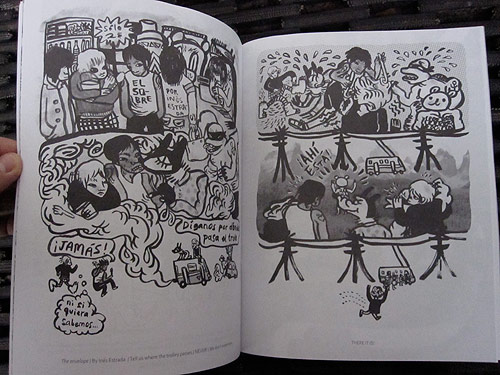 gang bang bong mexico comic zine drawing art
