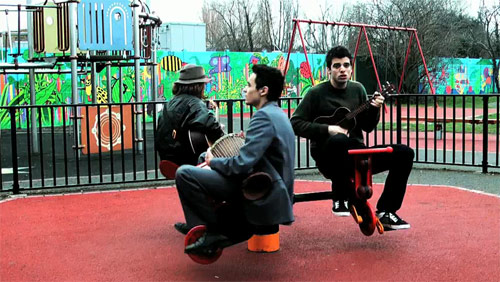 gold teeth slow music video live in a park performance acoustic