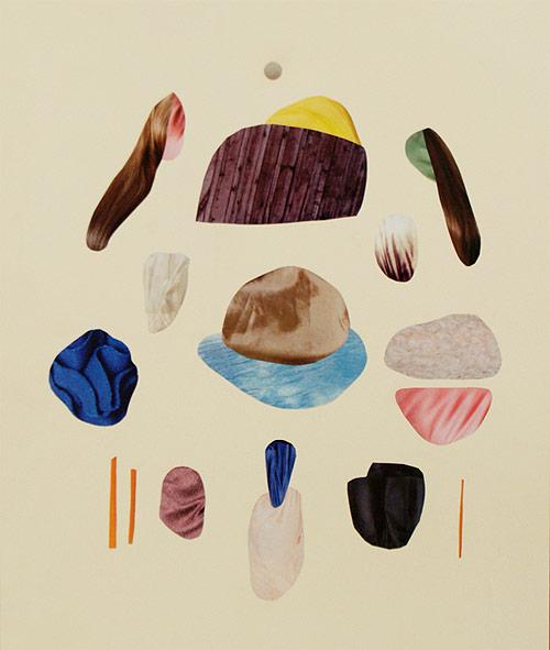 Artist Malin Gabriella Nordin collages
