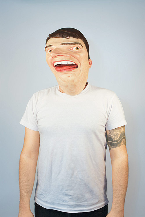 Apple Photobooth mask by Mark Pernice