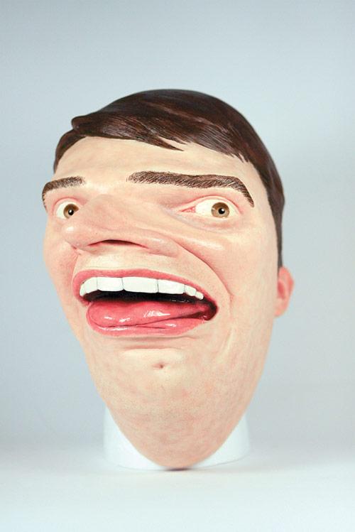 Apple Photobooth mask by Mark Pernice