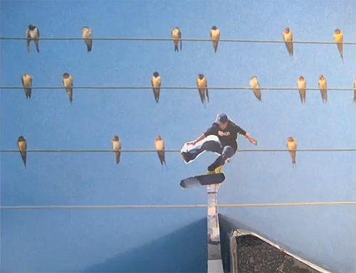 skateboard animation stop-motion Tilles Singer