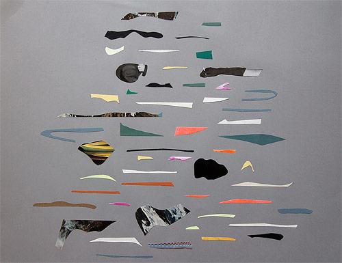 Collage artist Virginia Echeverria