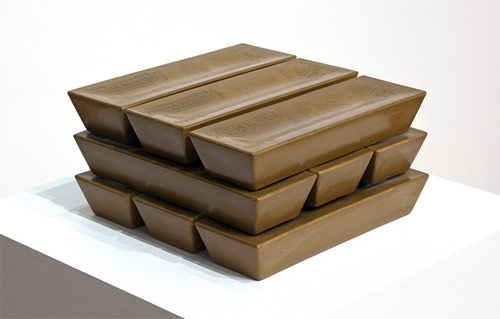 andrew lewicki sculpture artist gold oro or