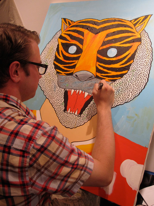 artist painter painting drawing matt leines japan yokohama