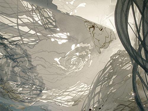 mia pearlman cut paper artist