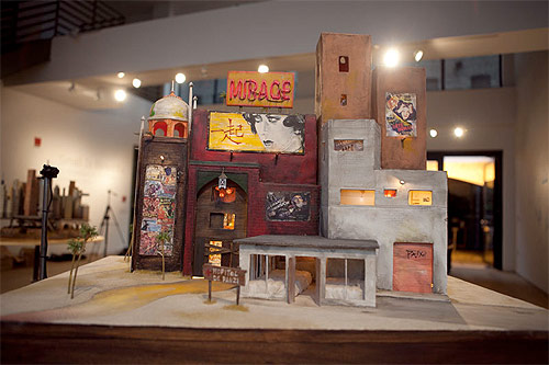 small is beautiful diorama art show new york theme magazine scion murphy and dine gallery