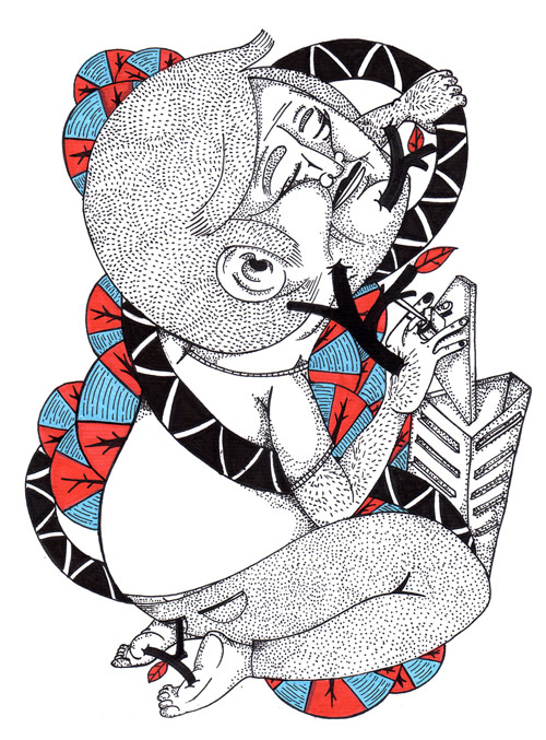 Artist Dimas Forchetti