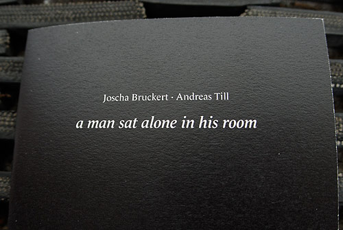 joscha bruckert andreas till photographers zine a man sat alone in his room