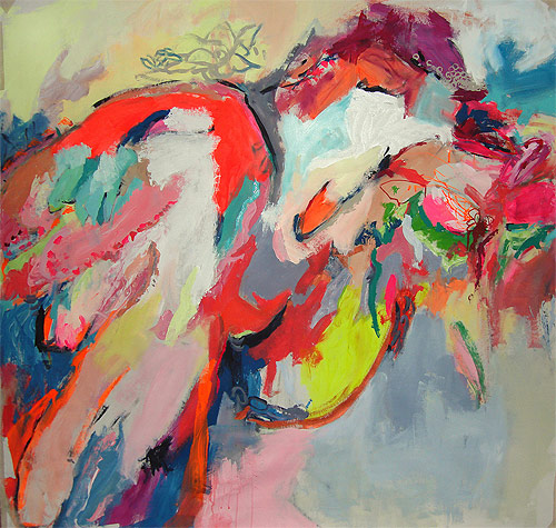 Artist painter Alejandra Knoll