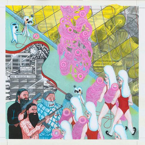 elvis studio Helge Reumann and Xavier Robel artist drawing