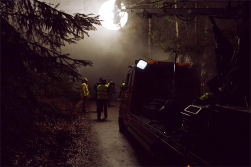 husky rescue they are coming music video behind the scenes photos Johannes Romppanen
