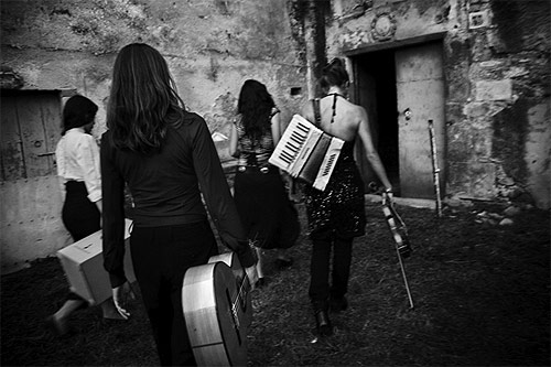 las migas 4-girl flamenco band