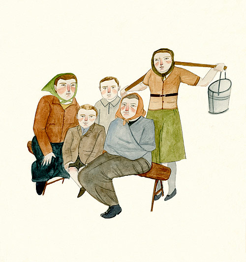lizzy stewart illustration illustrator drawing