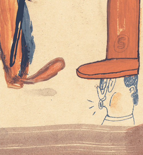 Illustrator Michael Rytz illustration drawing