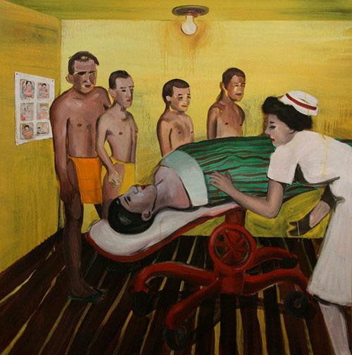 Artist painter Hai-Hsin Huang