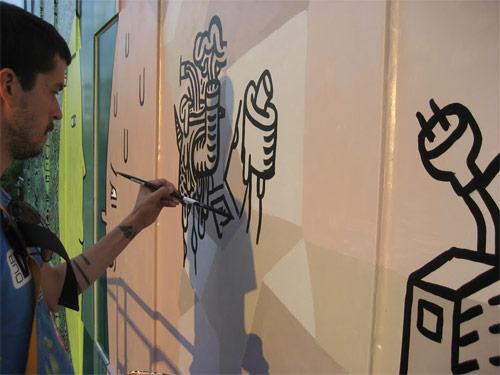 luke ramsey josh holinaty edmonton mural john howard society building alberta