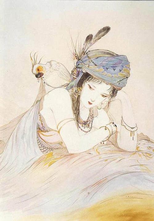 yoshitaka amano artist drawing painting