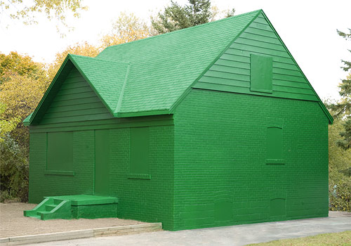 an te liu artist sculpture installation monopoly house