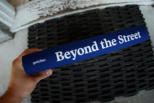 book beyond the street gestalten