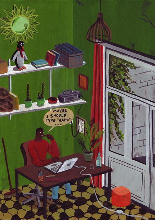 Artist Brecht Vandenbroucke