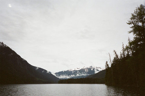 camping photos canoe trip british columbia wilderness