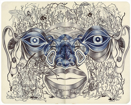 artist james jean drawings paintings