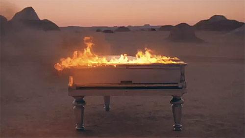 klaxons echoes music video