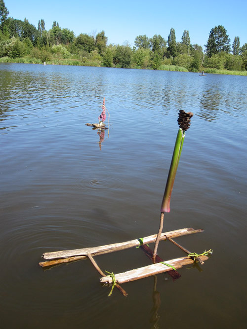Little Drifters Trout Lake Extravaganza Booooooom Project vancouver boat craft building