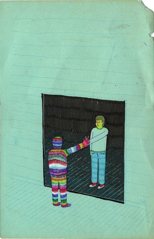 artist pablo boffelli drawing