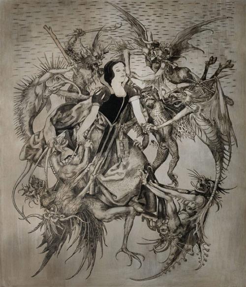 Artist Wolfe von Lenkiewicz