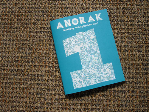 anorak activity book kids magazine