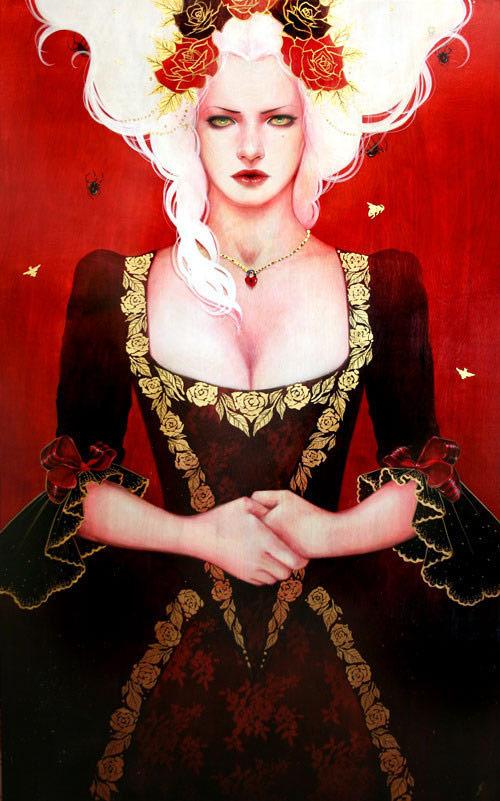 artist painter painting sylvia ji