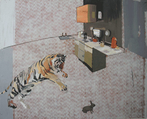 charming baker artist painter painting