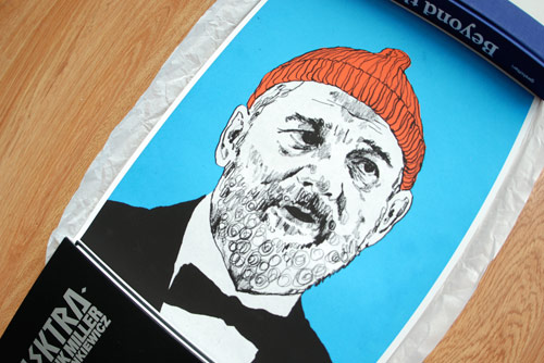 the life aquatic with steve zissou poster print little white lies