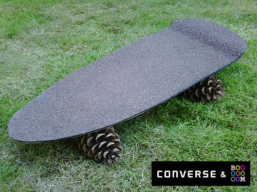 converse hack job skateboard project