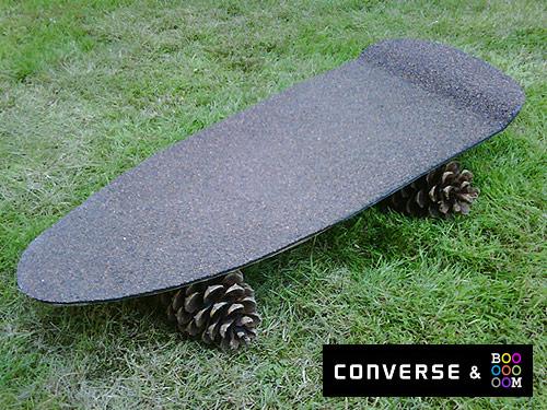 converse hack job skateboard project