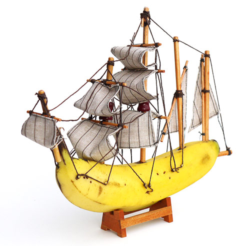 Banana boats by Jacob Dahlstrup Jensen