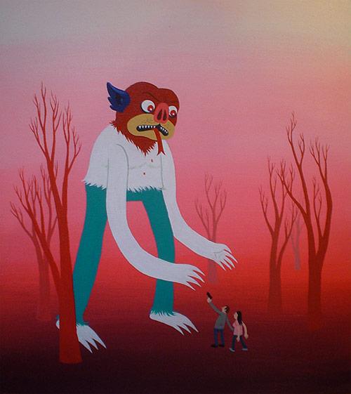 Artist Jeremy Tinder